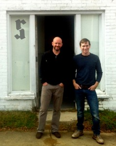 L-R: Robby Johnston and Craig Kerins of The Raleigh Architecture Co.